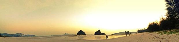 The Panoramic beauty of Nopparat Beach, Krabi
