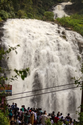 8km from Madikeri, Abbey Falls are in the mountains of Western Ghats.