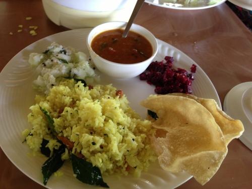 Food at Coorg