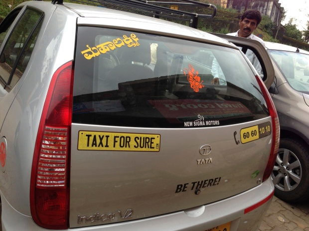 That's our sweet driver Jayram from Taxiforsure.com