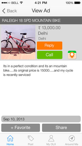 OLX in Mobile App Review |